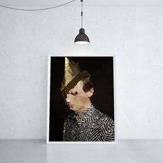 HUNTER´S SON WITH A WEAK HEART (KUBISTIKA Modern cubism Art | by BORIS DRASCHOFF)