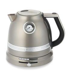 KitchenAid Pro Line® Tea Kettle, Medallion Silver