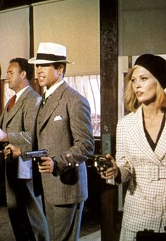 "Bonnie and Clyde - ""We rob banks"" a scene from the 1967 classic gangster film starring Warren Beatty as Clyde Barrow and Faye Dunaway as Bonnie Parker #GangsterMovie #GangsterFlick"