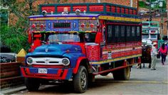 Colombia's colorful trucks: Flickr photo of the day
