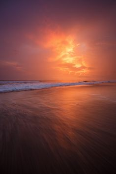 Sunset Glow - Santa Teresa beach, Costa Rica