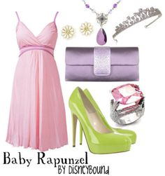 Looks like a maternity dress and it's adorable. Although when I was pregnant I could never have worn those heels.