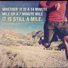 Keep on movin!