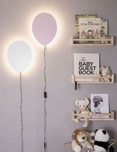 With Balloon wall lamp you get a good feeling every day! The lamp has integrated LED that surrounds the entire back piece, creating a beautiful gloria around the balloon. Led Balloons, Balloon Lights, Led Wall Lights, Balloon Wall, Room Lights, Wall Light Fittings, Lighting Sale, Led Licht, Paint Colors For Living Room