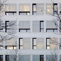 Two faces: Gewerbehof in Munich