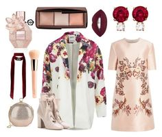 """Flower Bomb"" by iuliastyles ❤ liked on Polyvore featuring ONLY, STELLA McCARTNEY, Valentino, Halston Heritage, Miss Selfridge, Jemma Wynne, Viktor & Rolf, Guerlain and metallicdress"