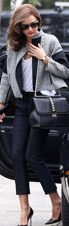 Miranda with Valentino bag