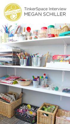 Des idées pour aménager un espace de création dans la chambre de votre enfant - artgora- Clamart