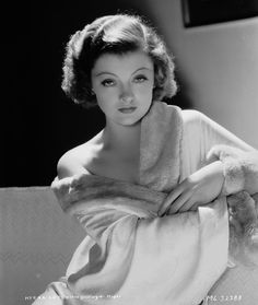 Nicknamed the Hollywood Queen, Myrna Loy was considered to be one of the most beautiful women of the thirties. Courted by actors like Clark Gable and John Barrymore, she excelled in ideal wife roles.