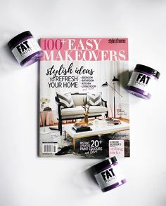 Did you hear? One of our newest colours, Dharma, was featured as one of @styleathome's fave picks for furniture paint! Get your copy of their annual Makeovers edition and flip to page 47 to see it for yourself!  #meet2016colour #FATPaint