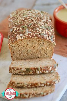 My Authentic Irish Brown Bread recipe gives you the ultimate rustic Irish quick bread! Made in minutes and jam-packed with flavor and texture, this loaf combines mixed seeds, wheat bran, and wheat germ. Bran Bread Recipe, Irish Soda Bread Recipe, Irish Brown Bread, Irish Bread, Bread And Pastries, Sweet Pastries, Loaf Recipes, Baking Recipes, Yummy Recipes