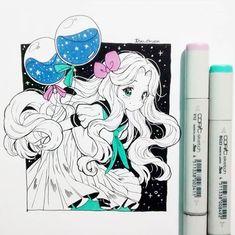 Learn To Draw Manga - Drawing On Demand Anime Drawings Sketches, Anime Sketch, Kawaii Drawings, Manga Drawing, Manga Art, Cute Drawings, Arte Copic, Copic Art, Dibujos Cute