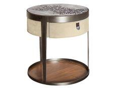 Прикроватный столик Amadeus, металл, текстиль, Fratelli Longhi.
