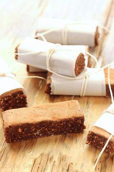 Vegan German Chocolate Power Bars recipe   Craving Something Healthy