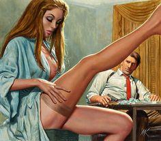 Mort Kunstler, 1970