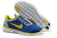 Kengät Nike Free 3.0 V2 Miehet ID 0011 Nike Shoes, Sneakers Nike, Nike Free 3, Nike Men, Blue And White, Kids, Stuff To Buy, Running Shoes, Women