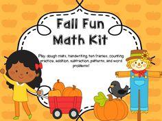 Fall Math Kit