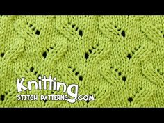 Faux Braid | Lace Knitting #20 - YouTube