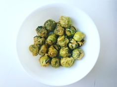 'Cheesy' Roasted Tahini Brussel Sprouts – Plant Based on a Budget