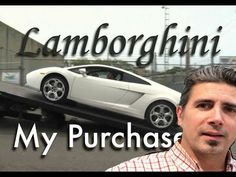 Buying a Lamborghini : Documentary of my first supercar