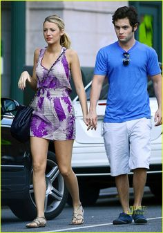 blake lively penn badgley cafeteria 06 Blake Lively and Penn Badgley hold hands and then catch a cab after a romantic lunch at Cafeteria in the Chelsea neighborhood of New York City on Saturday (September…