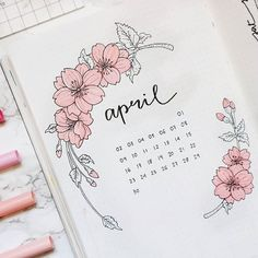 Bullet journal monthly cover page, may cover page, hand lettering, bull Bullet Journal School, April Bullet Journal, Bullet Journal Banner, Bullet Journal Aesthetic, Bullet Journal Notebook, Bullet Journal Ideas Pages, Bullet Journal Spread, Bullet Journal Layout, Bellet Journal