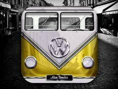 Volkswagen van by Alex Bender