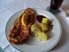 Wiener Schnitzel mit Kartoffeln - Gasthof Weiserhof, Salzburg