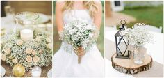 22 Perfect Ways to Use Baby's Breath at Your Wedding Ceremony Arch, Wedding Ceremony, Our Wedding, Dream Wedding, Lace Weddings, Romantic Weddings, Rustic Weddings, Blue Wedding Decorations, Wedding Centerpieces