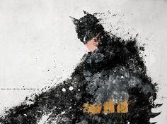 Superhero Splatter Art / Melissa Smith