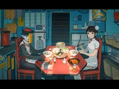 Mili's new song RTRT ! The love between a girl and a zombie, with lot of Chinese food! Are you hungry?