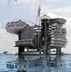 Transforming Abandoned Oil Rigs into Habitable Structures, Ku Yee Kee and Hor Sue-Wern