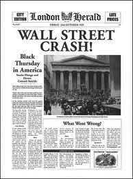 Black Tuesday 1929 the stock market crash and beginning of the ...