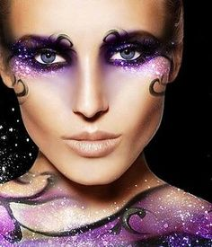 Purple Fantasy Makeup
