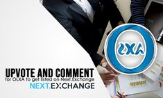 #Upvote for #OLXA to be listed on @NextExchange at https://nextexchange.featureupvote.com/suggestions/7141/olxa-token  Buy OLXA Today at https://www.OLXAcoin.com (ICO Ends on 25 May 2018) #OLXAcoin #Exchange #NextExchange #Listing #Vote #Upvote #Cryptocurrency #ICO #Listed