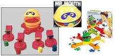 Mr. Mouth...this one goes WAY back. It would move around in a circle opening and closing it's mouth as you would try to fling in all of your pieces first. I can honestly still hear the sound it would make. Crazy memories!