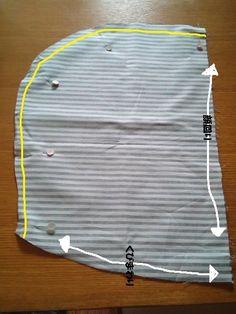 ユニクロパーカーリメイク 布をプラス編 その2 - 毎日ほのほの