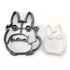 Totoro Cookie Cutter Set from WarpZone Prints for $9.50 on Square Market
