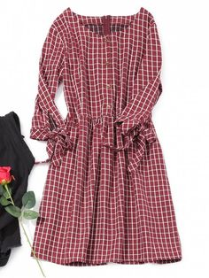 Up to 80% OFF! Half Button Mini Checked Dress. #Zaful #Dress Zaful,zaful dress,zaful outfits,black dress,dress,dresses,fashion,fall fashion,fall outfits,winter outfits,winter fashion,dress,long dress,maxi dress,long sleeve dress,flounced dress,vintage dress,casual dress,lace dress,boho dress,dresses casual,flower dresses,maxi dresses,evening dresses,floral dresses,long dresses,party dresses,gift,Christmas,ugly Christmas, New Year 2017, New Year Eve. @zaful Extra 10% OFF Code:ZF2017