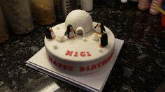 Pinquin Birthday Cake