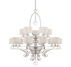 View the Savoy House 1-254-15 Rosendal 15 Light Double Tier Chandelier at LightingDirect.com.