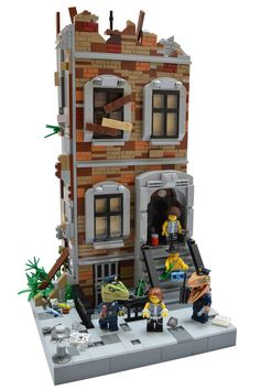Don't Step On the LEGOs — legoloft:   The Message...