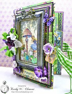 Graphic 45 Fairie Dust Waterfall Folio Fairie Dust by Kathy Clement for RRR Product by Graphic 45 Photo 4
