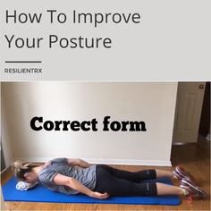 The reason for most back pain is stunted back muscles. This arises from the traditional workout plans. Check these chest and back exercises at home Posture Correction Exercises, Posture Exercises, Back Exercises, Physical Fitness, Yoga Fitness, Health Fitness, Fit Board Workouts, At Home Workouts, Yoga Positions For Beginners