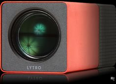 The Lytro light field camera -- captures not just light but also its direction. As a result, you can re-focus the picture after it's taken. A curiosity today.