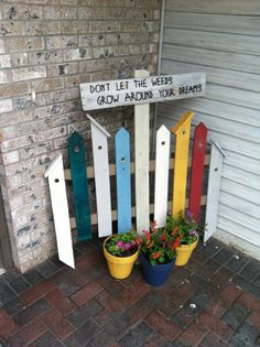 1000 Images About Birdhouse Fence On Pinterest