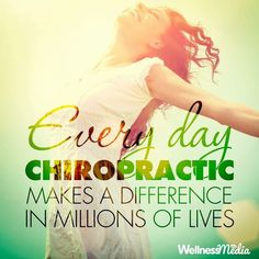 EVERY DAY CHIROPRACTIC MAKES A DIFFERENCE IN MILLIONS OF LIVES  Atascocita Chiropractic. #Chiropractor #Chiropractic #AtascocitaChiropractic #AtascocitaTexas #Atascocitatx Make A Difference, Chiropractic, Pain Relief, How To Plan, How To Make, Liberty, Day, Quotes, Life