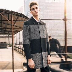 Mens Dapper Long Trench Coat #urbanstreetzone #urbanstreetwear #urbanclothes #urbanstyle #streetwear #streetbeast #streetfashion #hypebeast #outfitoftheday #outfitinspiration #ootd #outfit #outfitgrid #brand #boutique #highsnobiety #contemporary #minimalism #mens #coat #streetwear