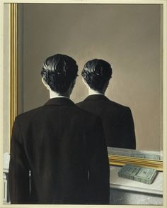 Magritte exposition opens tomorrow at the Art Institute. René Magritte (Belgian, Not to be Reproduced (La Reproduction interdite), Oil on canvas; 81 × 65 cm × 25 in. Salvador Dali, Conceptual Art, Surreal Art, Rene Magritte Kunst, Artist Magritte, Magritte Paintings, Photo Museum, Wassily Kandinsky, Modern Art