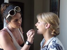 Victoria the make up lady, you did my ladies proud at Katies wedding. Maybe me next time!